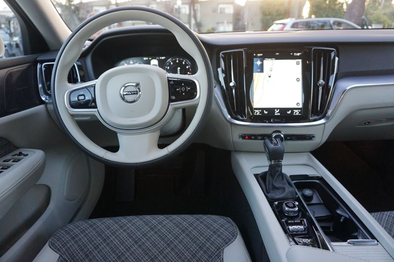 PORTLAND TRIBUNE: JEFF ZURSCHMEIDE - Inside, the V60 offers clean Scandinavian design and luxury worthy of any European luxury brand. The launch edition It comes with a large 9-inch touchscreen infotainment and control interface, plus an optional 12.3-inch all-video dashboard display.