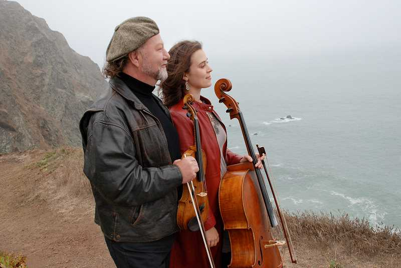 COURTESY PHOTO: THE WALTERS CULTURAL ARTS CENTER - Alasdair Fraser and Natalie Haas have performed together for 18 years and have worked on five albums together.