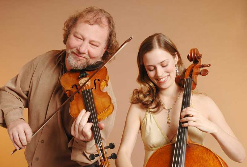COURTESY PHOTO: THE WALTERS CULTURAL ARTS CENTER - Alasdair Fraser and Natalie Haas bring Celtic music to Hillsboro on Nov. 9.