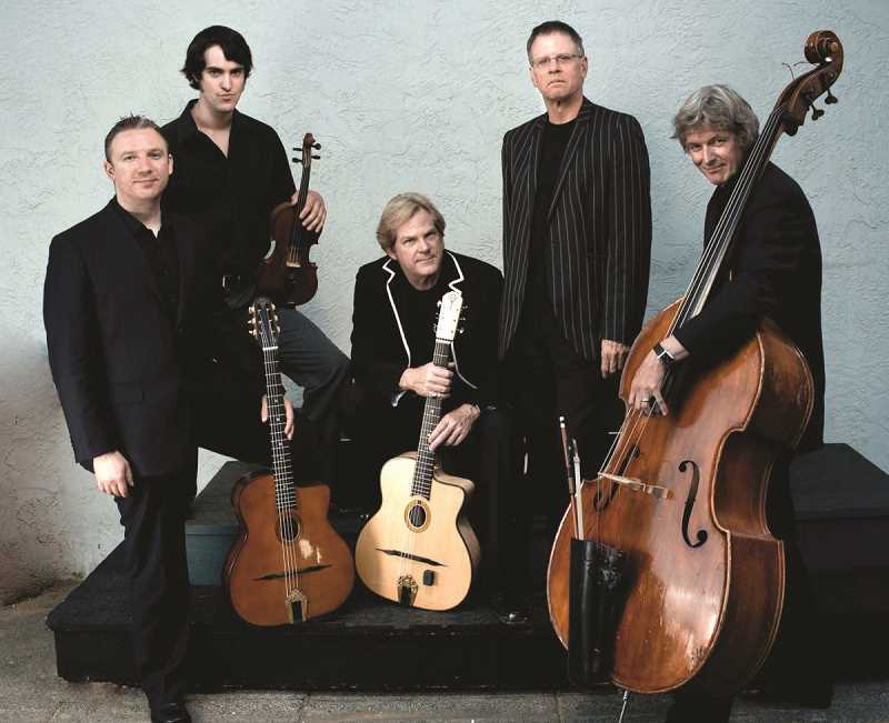 COURTESY PHOTO: PACIFIC UNIVERSITY  - John Jorgenson Quintet performs at Pacific University on Nov. 18.