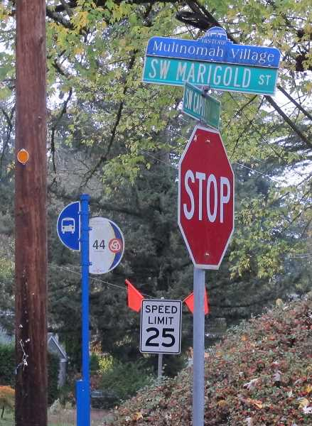 PHOTO BY BILL GALLAGHER - Speed limits were lowered in late October along Capitol Highway.