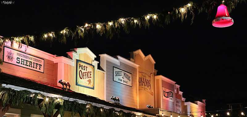 ALPENROSE PHOTO - Main Street in Dairyville at Alpenrose Dairies will fill with holiday crowds beginning the last weekendof November.