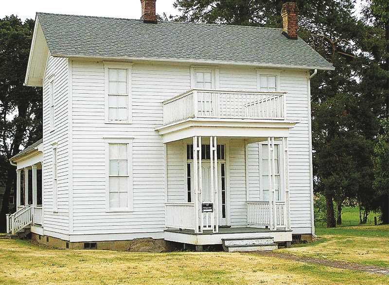GRAPHIC FILE PHOTO - The Murphy House and other historic buildings in St. Paul could benefit from a recent designation by the state that allows the town to develop its own historic preservation program.
