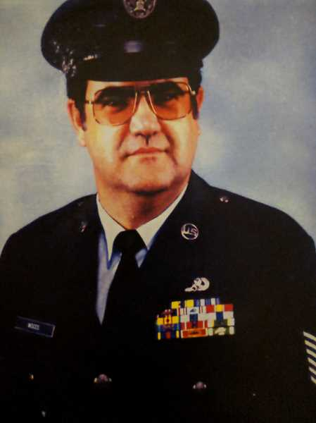 CONTRIBUTED PHOTO - Roger Woods retired from the Air Force as a master sergeant in 1990.