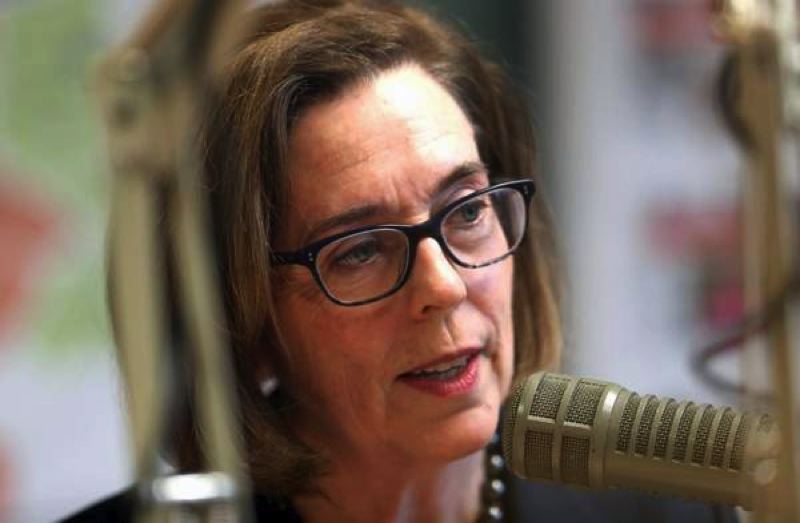 TIMES PHOTO: JAIME VALDEZ - Gov. Kate Brown looks likely to retain her seat as early voting results were released Tuesday evening.