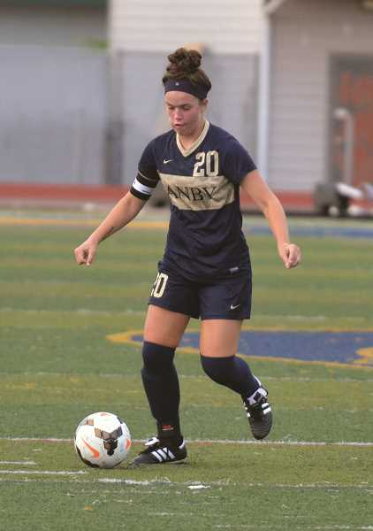 ARCHIVE PHOTO: TANNER RUSS - Ellie Shorter was awarded first team all-league honors.