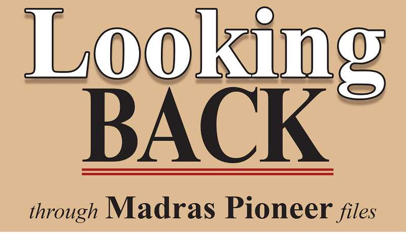 MADRAS PIONEER LOGO - The Madras Pioneer looks back over more than 100 years of history in the newspaper archives.