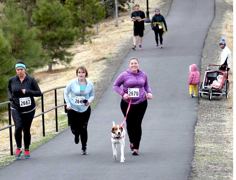 FILE PHOTO - The Canyon Rumble Frozen Half marathon is Dec. 1 at 10 a.m. You can register at madrasrunners.com