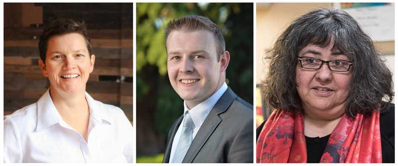 Beach Pace, Kyle Allen and Olivia Alcaire took easy victories on Nov. 6, claiming seats on the Hillsboro City Council.