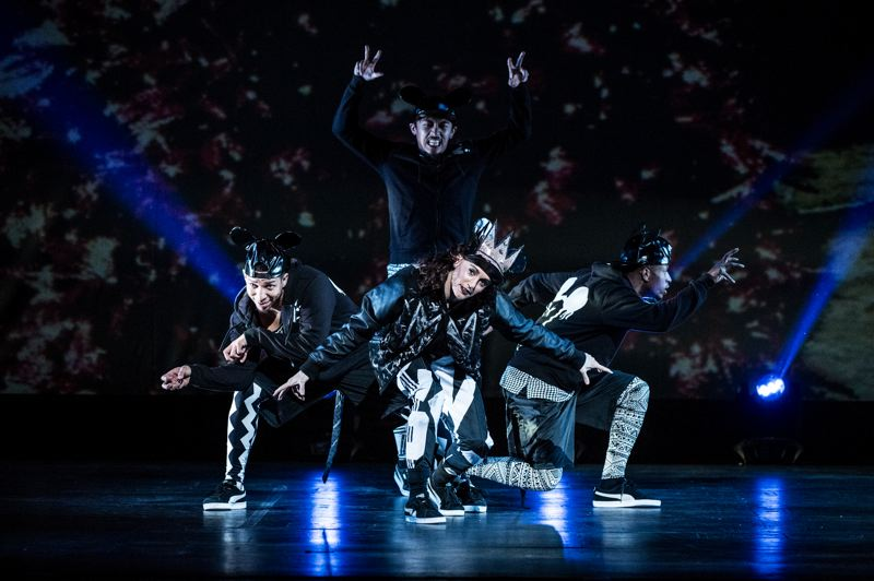 COURTESY: TIM NORRIS - It's a contemporary twist on a holiday story, and 'The Hip Hop Nutcracker' appeals to young people who love dance and hip hop. 'I think of 'The Hip Hop Nutcracker' as 'The Nutcracker' for today,' says Jennifer Weber, director/choreographer.