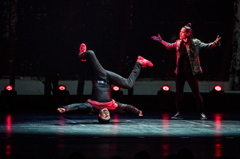 COURTESY: TIM NORRIS - 'The Hip Hop Nutcracker,' featuring MC Kurtis Blow, stages Tuesday and Wednesday, Nov. 13-14, at Keller Auditorium. It played before a sold-out crowd last year in Portland.