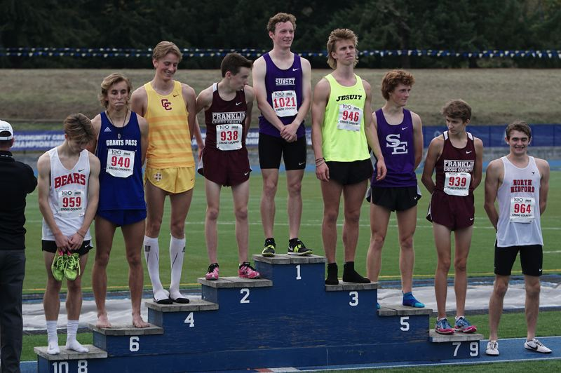 TIMES FILE PHOTO - Sunset senior Ethan Reese won his first Class 6A state cross country championship last weekend.