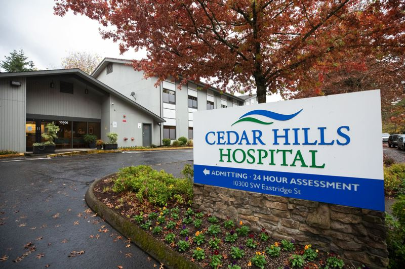 TRIBUNE PHOTO: JONATHAN HOUSE - Cedar Hills Hospital in unincorporated Washington County provides inpatient treatment to people suffering mental health and substance use disorders.