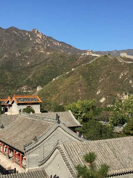 COURTESY OF LANA PAINTER - One of the most impressive sights in China was seeing the Great Wall, said Lana Painter, executive director of the Sherwood Chamber of Commerce.
