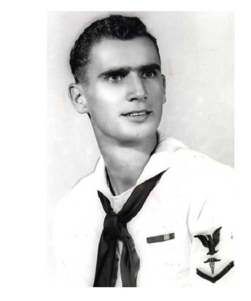 COURTESY OF JOE LIPSCOMB - Joe Lipscomb enlisted in the U.S. Navy in 1951 where he became a hospital corpsman second class and served in the U.S. Navy Fleet Marine Force.