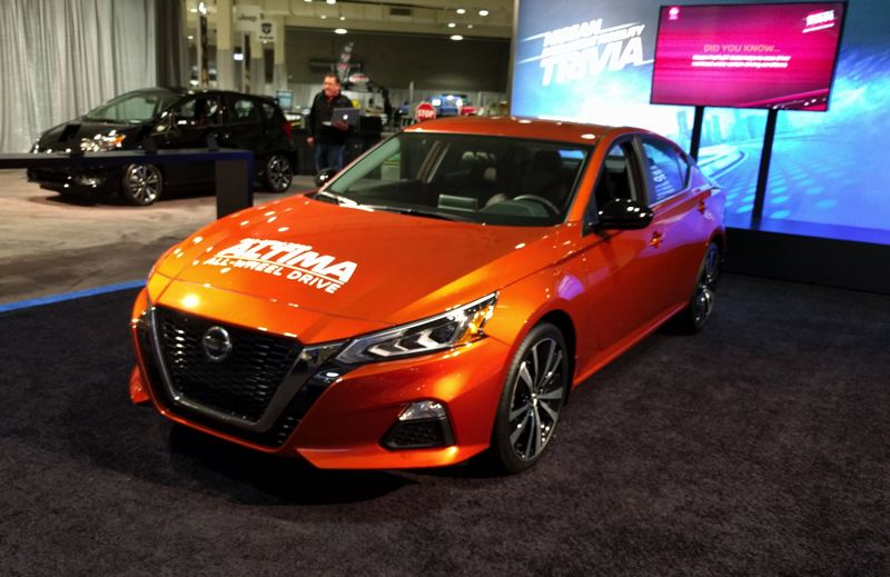 PORTLAND TRIBUNE: JIM REDDEN - The completely redesigned 2019 Nissan Altima is available with all-wheel-drive for the first time.