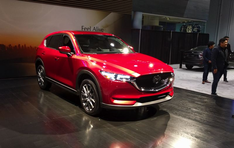 PORTLAND TRIBUNE: JIM REDDEN - Mazda now offers a turbocharged 2.5-liter four in the higher trim levels of the 2019 CX-5.