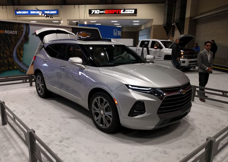 PORTLAND TRIBUNE: JIM REDDEN - The 2019 Chevy Blazer is a completely modern midsize crossover SUV.