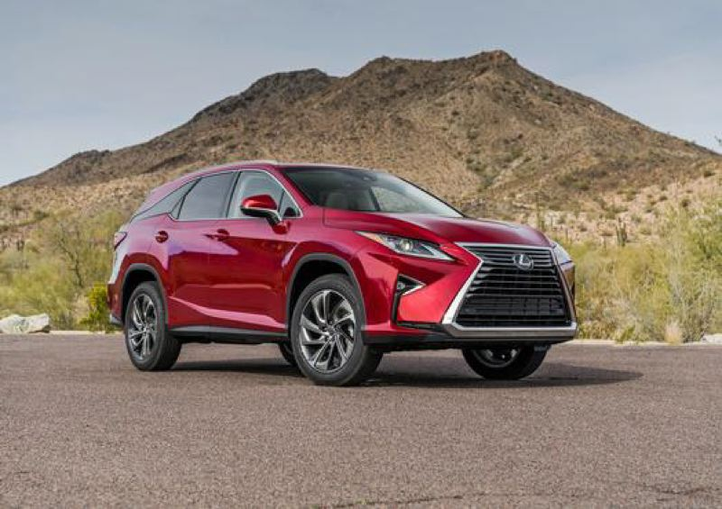 LEXUS USA - The 2018 Lexus RX 350L builds in the bold looks of the five-passenger version for its third row of seats.