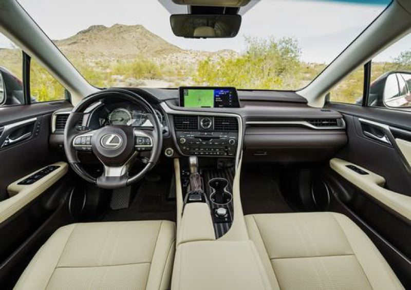 LEXUS USA - The interior of the 2018 Lexus RX 350L maintains the company's high standards.