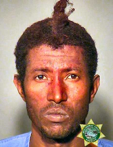 MCDC BOOKING PHOTO - 36-year-old Tsegay A. Abraha is under arrest for multiple assaults with a piece of pipe.