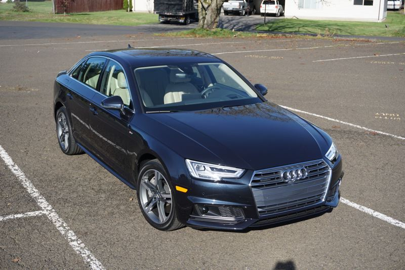 PORTLAND TRIBUNE: JEFF ZURSCHMEIDE - On the road, the A4 is well mannered, fast, and among the most agile compact sedans you can buy.