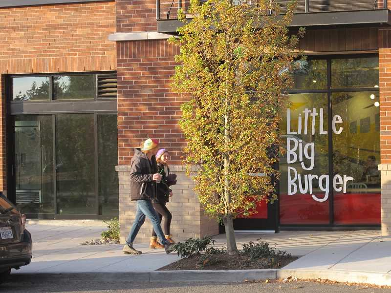 PHOTOS BY BILL GALLAGHER - The new Blue Star Donuts in Multnomah Village will occupy the space right next door to Little Big Burgerat 7711 Capitol Highway.