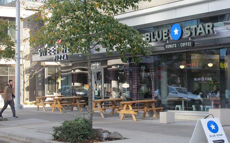 The Multnomah Village location will be 'somewhat similar' to the Blue Star South Waterfront location at 0672 SW Gaines St.