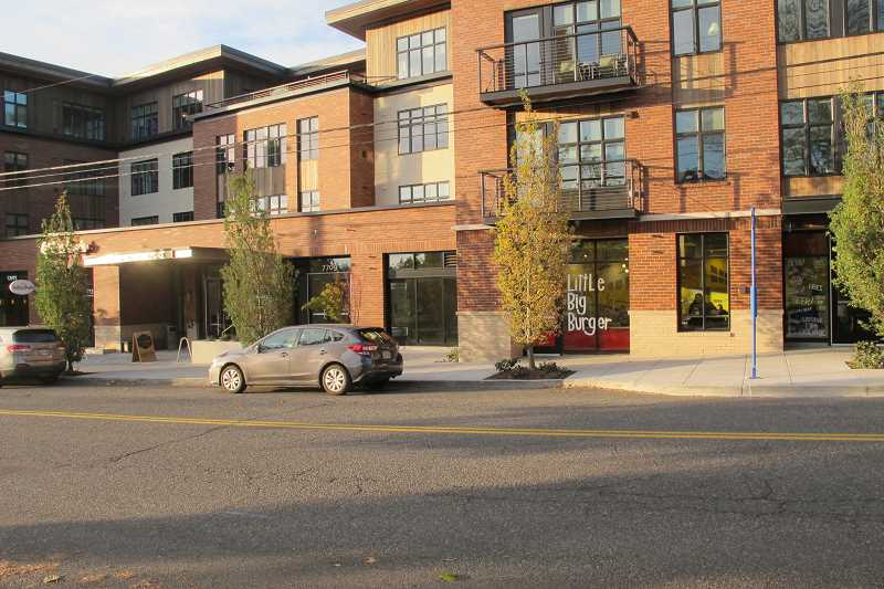 The new Blue Star Donuts will be on the ground floor of the Multnomah Village apartments.
