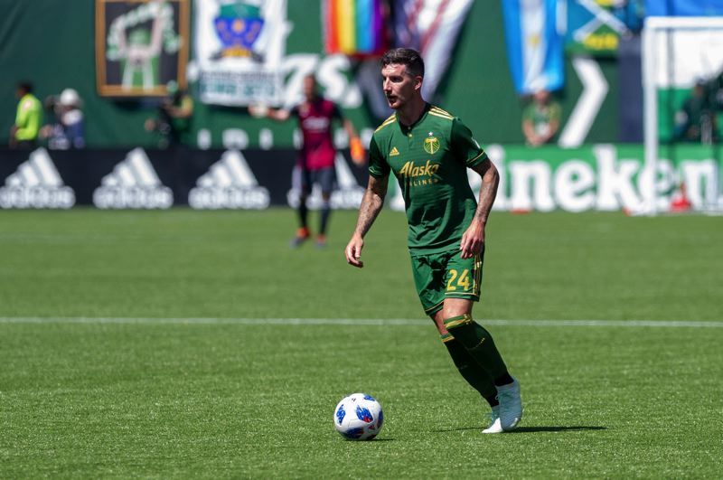 TRIBUNE PHOTO: DIEGO G. DIAZ - Veteran defender Liam Ridgewell and the Portland Timbers are one step from returning to the MLS championship game.