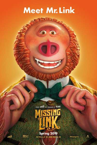 Laika's fifth feature-length film 'Missing Link' hits theaters April 12, 2019.