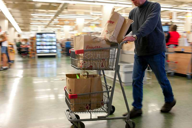 STAFF FILE PHOTO - Hillsboro is looking at potentially banning plastic bags from grocery stores, restaurants and other city businesses. The Council is expected to vote on the issue Nov. 20.