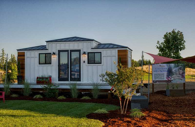 COURTESY PHOTO - It was the first time the Street of Dreams event had a tiny home for guests to tour. It was called 'A tiny house with a big dream.'