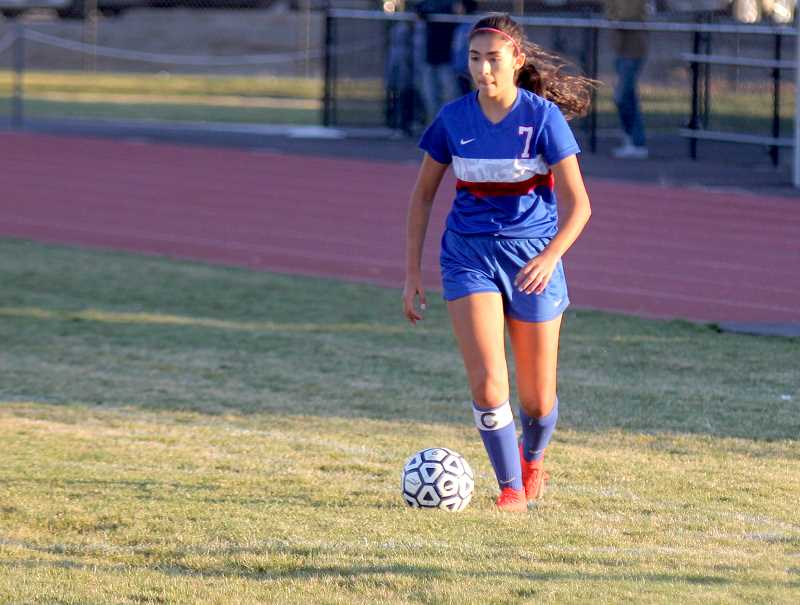STEELE HAUGEN - Erika Olivera earns first team in the Tri-Valley league for the fourth year in a row.
