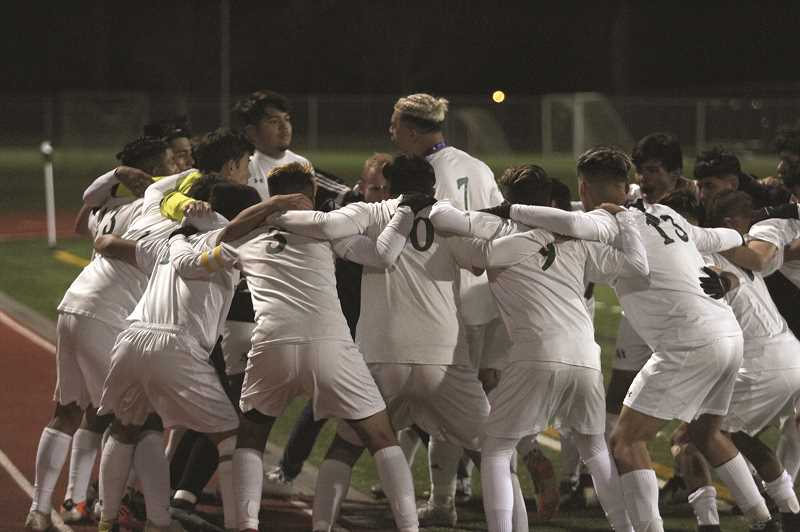 PHIL HAWKINS - The 2018 North Marion boys soccer team finished the season with nine wins in its final 12 games, including three consecutive road playoff victories to advance to its second state title appearance in school history.
