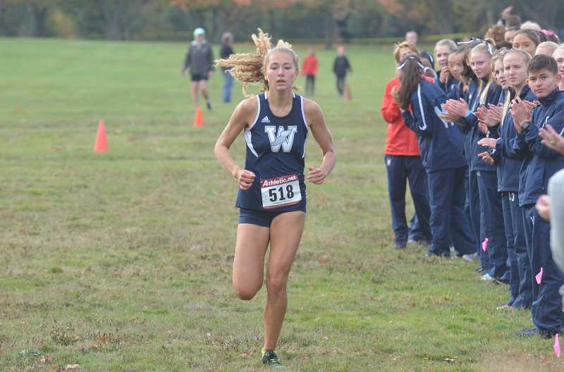 ARCHIVE PHOTO: TANNER RUSS - Samantha Prusse, the NWOC champion, also received all-state honors.