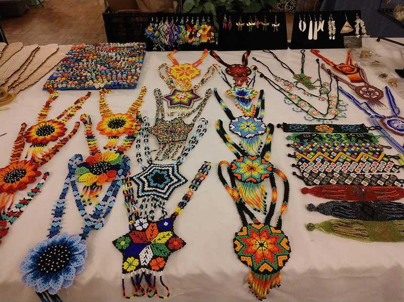 COURTESY PHOTO: ADELANTES MUJERES - Vendors from around Washington County sell at the indoor markets, including jewerly, gifts and produce.