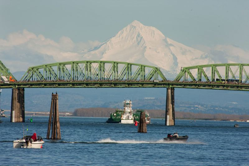 PAMPLIN MEDIA GROUP FILE PHOTO - A proposed river ferry hopes to carry passengers from Vancouver, Wash., to downtown Portland as a way to relieve traffic congestion. The state Transportation Commission will consider the proposal during its Friday meeting.
