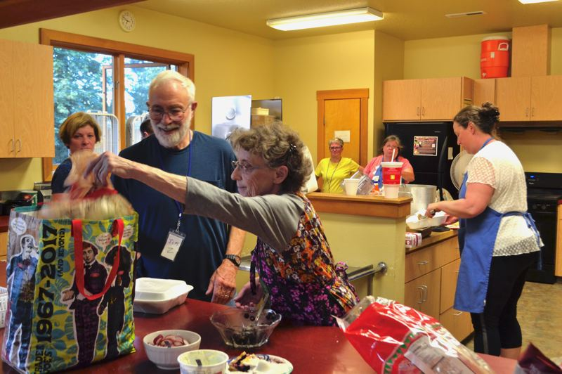 FILE PHOTO - Sandy Activity Night also offers meals every Thursday from 4-7 p.m. at the Sandy Community Church.