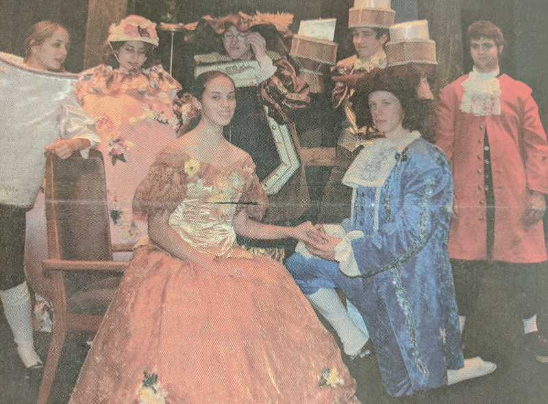 ARCHIVE PHOTO - In 2008, Estacada High School students were staging 'Beauty and the Beast.'
