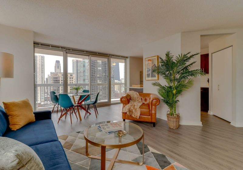 COURTESY: VACASA - Vacation home management company Vacasa aims to manage short term rentals in condos and apartment buildings, in cities as well as restorts, such as this one in Windy City Whispers in Chicago Illinois.