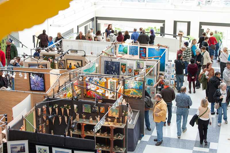 SUBMITTED PHOTOS  - The 38th annual Wild Arts Festival will take place Nov. 17 and 18 at Montgomery Park in Portland. The event features nature themed art of all kinds, and books.
