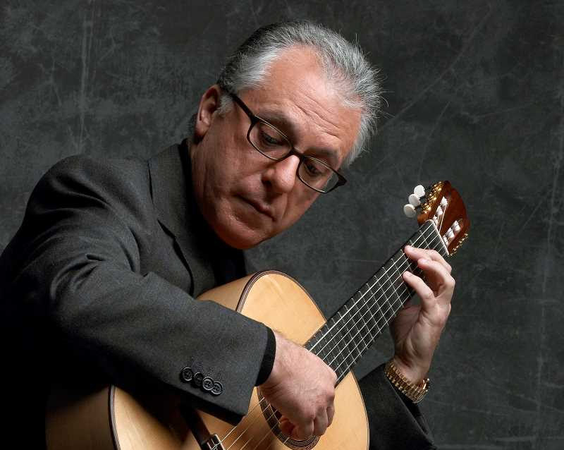 Pepe Romero is one of the international classical guitarists including in Portland International Guitar XIV concert series.