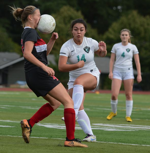 PAMPLIN MEDIA GROUP: DAVID BALL - High school injury reports analyzed by InvestigateWest and Pamplin Media show that girls are twice as likely to get concussions as boys in Oregon. Soccer players are particularly vulnerable to concussions.