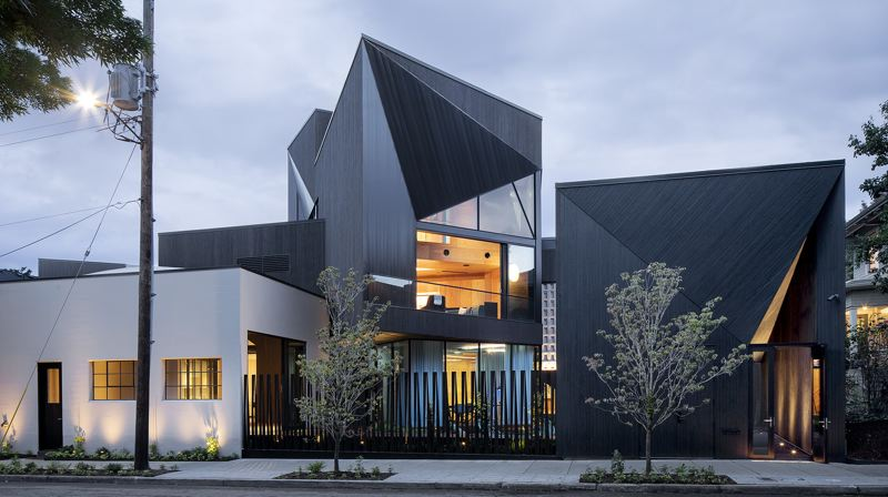 PHOTO: JEREMY BITTERMANN   - SINBIN, a private residence on Northwest Quimby Street by Skylab Architecture, the same firm that designed the YARD apartment building and some of the new Nike campus. SINBIN won a merit award at the AIA Portland Architecture Awards, the equivalent of silver. It contains a skatepark.