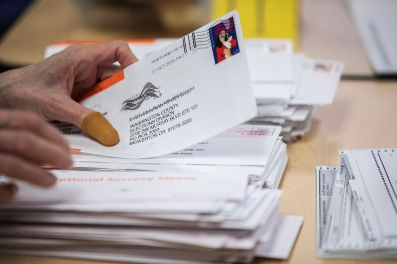 PAMPLIN MEDIA GROUP FILE PHOTO - Nearly 100 ballots entrusted to Our Oregon officials were turned in a day after the Nov. 6 election, prompting a state investigation.