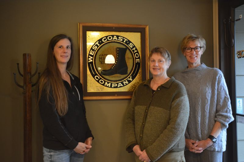 SPOTLIGHT PHOTO: COURTNEY VAUGHN - Wesco is still family owned and operated. Third and fourth-generation family members work in the companys factory and front office. Shown left to right: Kim Freeland, administrative assistant; Peggy LeBlanc (Shoemaker), secretary/treasurer; and Roberta Shoemaker, owner, CEO and president.