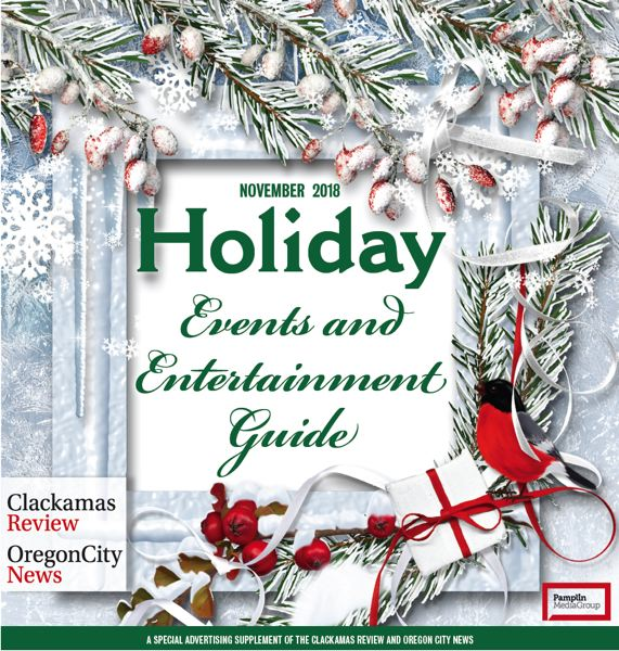 (Image is Clickable Link) Holiday Events & Entertainment Guide 2018 - Clackamas & Oregon City