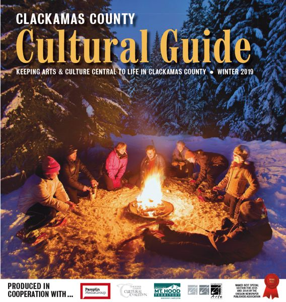 (Image is Clickable Link) Clackamas County Cultural Guide - Winter 2018