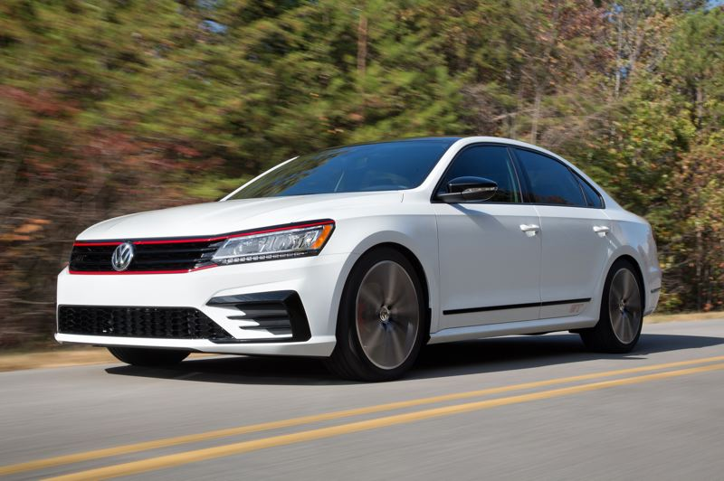 VOLKSWAGEN OF AMERICA - The 2018 VW Passat GT looks sharp with its special trim and drives even better, making it a good value for enthusiasts on a budget.